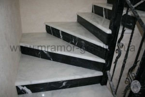 мрамор лестница